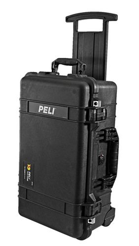 PELI CASE 1510 Carry On Case inkl. Würfelschaumstoff