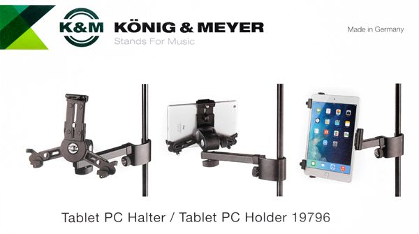 KÖNIG & MEYER 19796 Tablet PC Holder