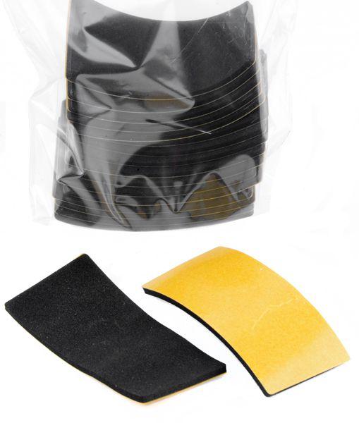 18x Quiet Soles / Hush Heels 30 x 65  mm für Schuhsohlen vorne /  Groß