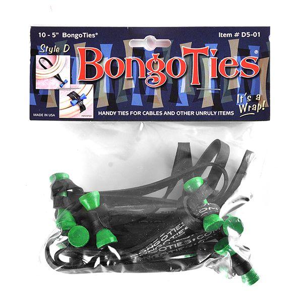 BongoTies Style D 10er Pack TreeFrog (green bongo)