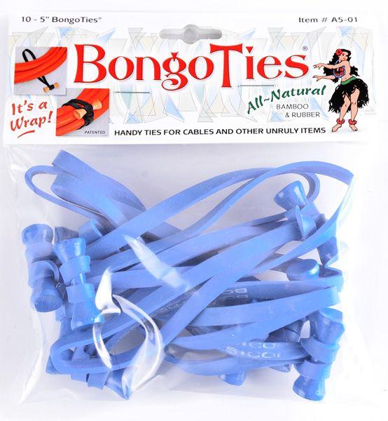 BongoTies BLUE 10 Stück