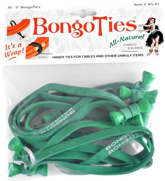 BongoTies GREEN 10 Stück