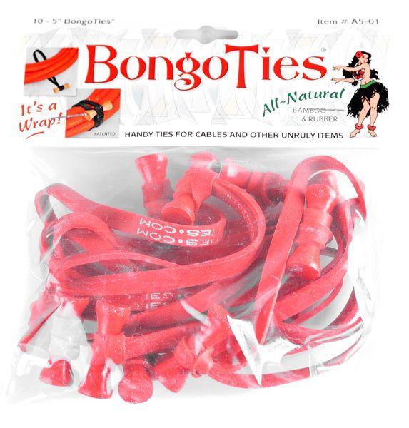 BongoTies RED 10 Stück