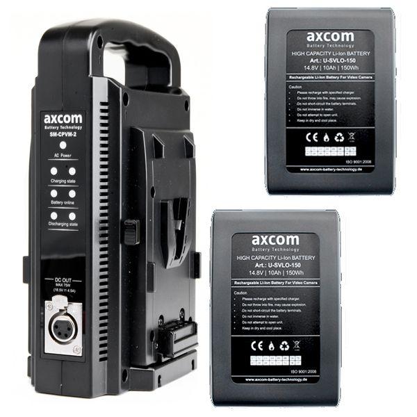 Starterpack Bundle 5 V-Mount 14,8 V / 10 Ah 150 Wh