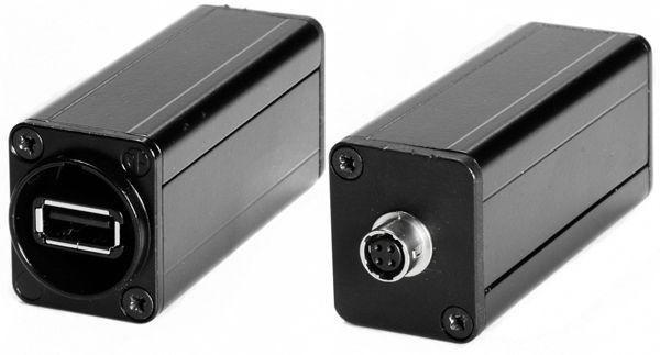5V USB - 12V Hirose Metallausführung
