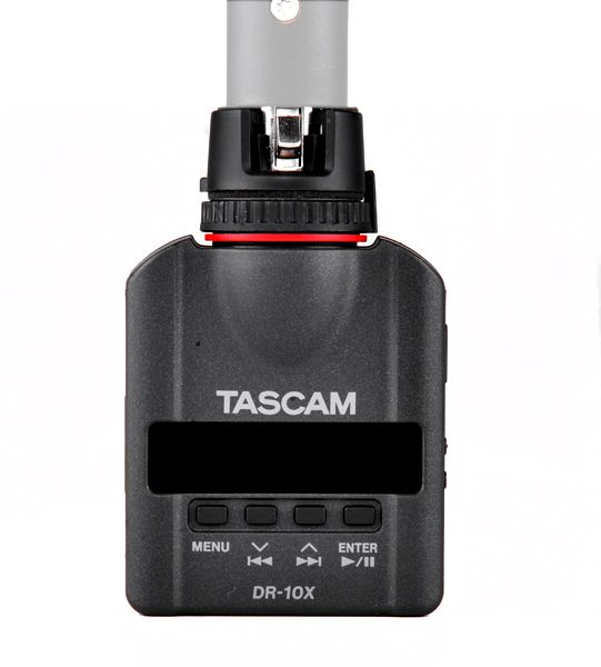 Tascam Audiorecorder zum Aufstecken auf ein Mikrofon