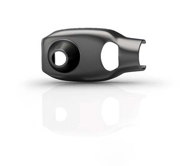 DPA 1 STÜCK Knopfloch-Halter für d:screet SLIM-Serie, weiß