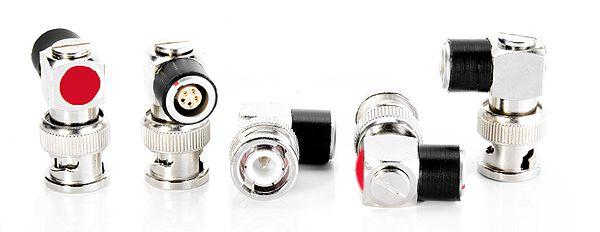 TC-OUT fixed adapter BNC angled- Lemo5 90°