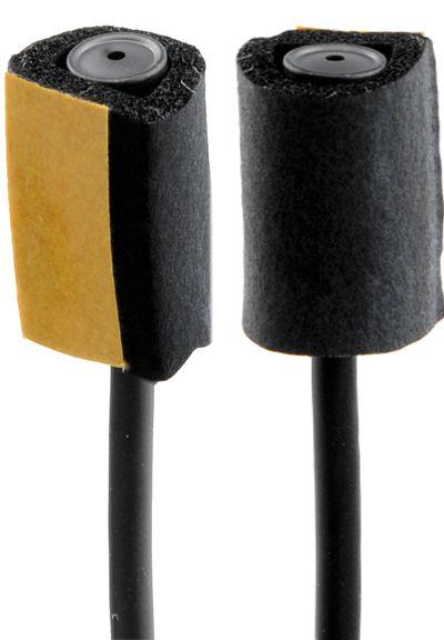 Geräuschhemmer für MKE 2, gummiert SCHWARZ