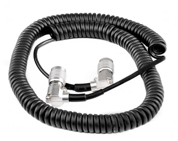 Hirose 4 90° - Hirose 4 90° Coiled Cable
