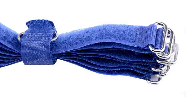 10 Kabelbinder 1,5cm, schmal, blau Länge 20cm