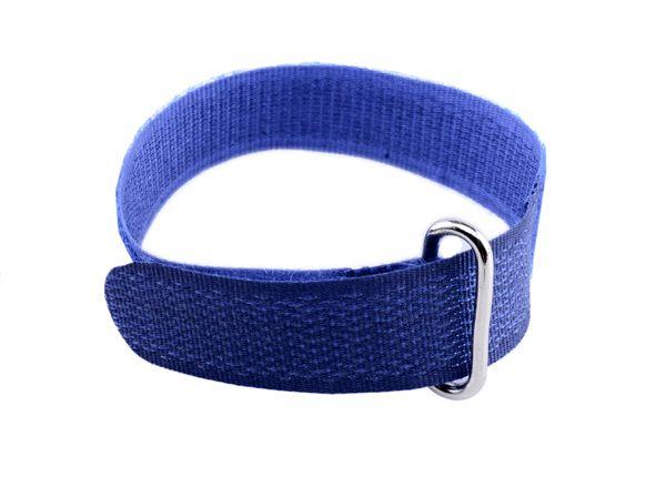1 Kabelbinder 1,5cm, schmal, blau Länge 20cm