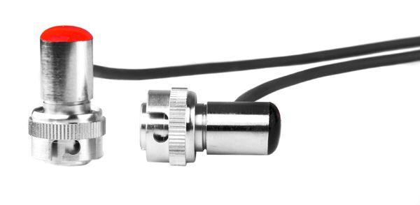 KW-Sony-Stecker für WWR Empfänger - pig tail / red