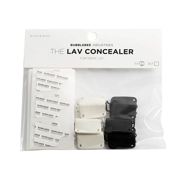 Bubblebee Industries - The Lav Concealer für Rode, 6-Pack