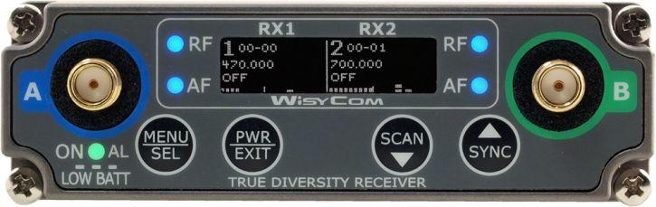 WISYCOM RECEIVER MCR42S-N