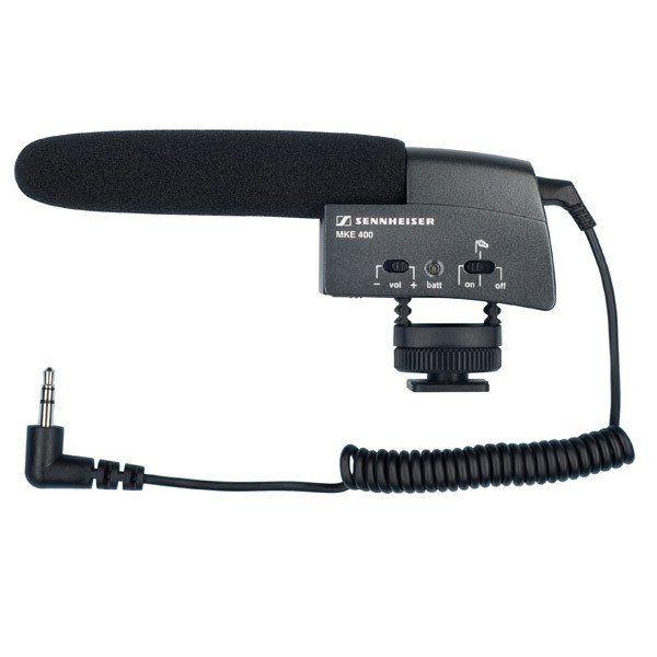 Mini-DVCAM-Mikrofon SENNHEISER MKE 400 (Superniere)