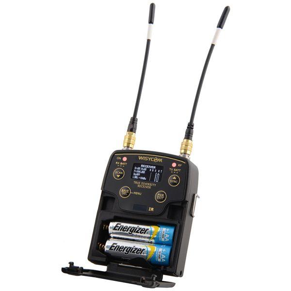 WISYCOM MPR51-ENG, band N: 470-700 MHz, 25KHz step (Standard)