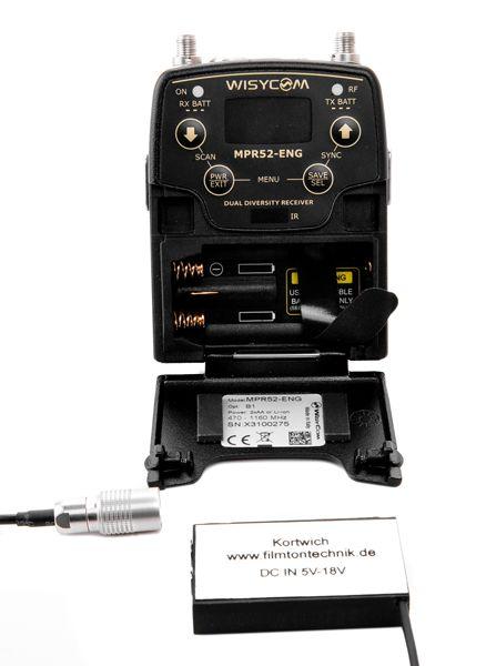 Power adapter for MPR30, MPR51 und MPR52; HIROSE connector