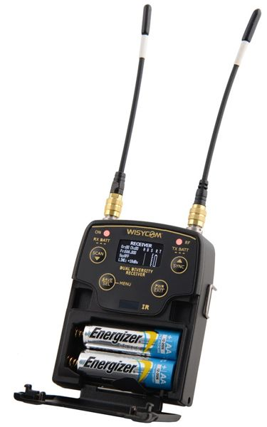 WISYCOM MPR52-ENG, B1 470-800 MHz, Two Channels