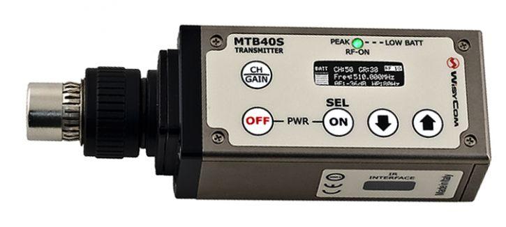 WISYCOM TRANSMITTER MTB40S 100mW