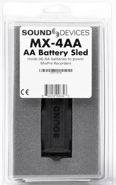 Sound Devices MX-4AA Battery Sled (batteries not included) für MixPre-3 und MixPre-6