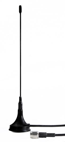 Magnetfuß-Antenne Dualband auf SMA 470-862 MHz
