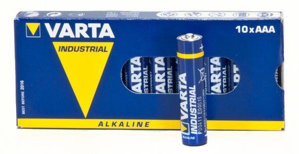 10 Stück Batterien VARTA 4003 Micro Industrial 1,5 V AAA