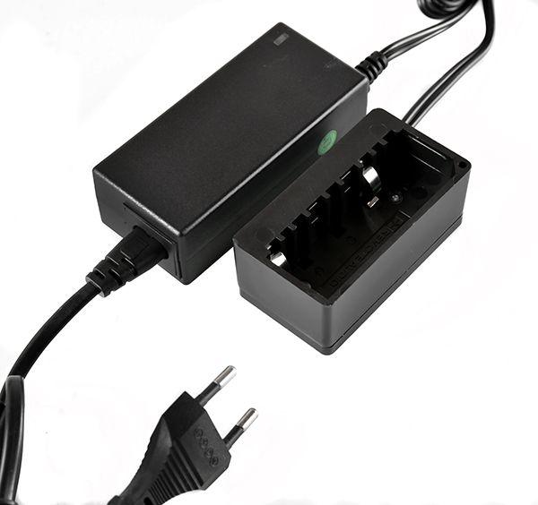 LG-1CH Ladegerät Kortwich 1-Kanal für Li-Ion NP1 inkl. Netzteil