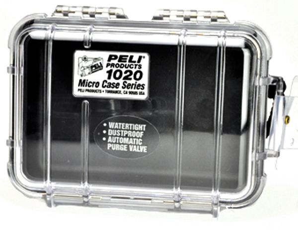 Micro-Peli-Case 1020 black / clear