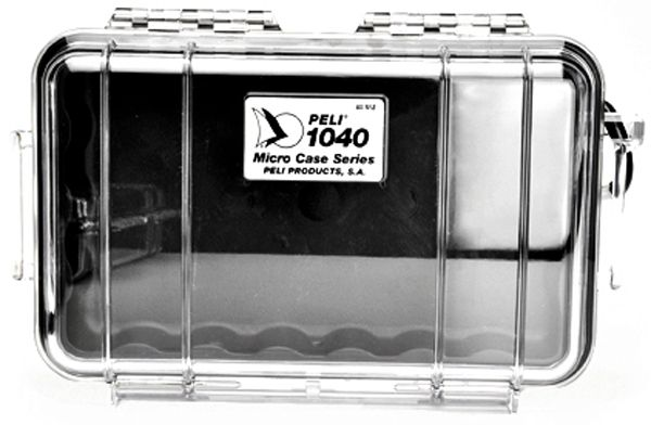Micro-Peli-Case 1040 black / clear
