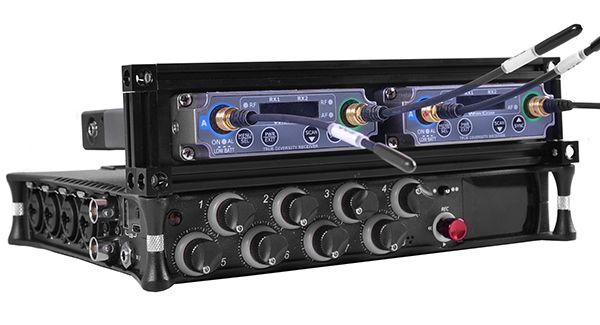 für Sound Devices MixPre-10 II Rahmen für 2 Sender