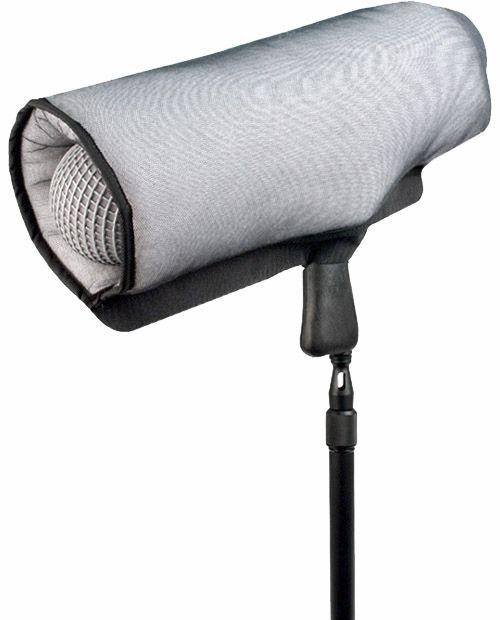 Remote Audio microphone windshield raincover