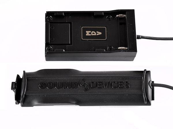 Akkuadapter NPF für Sound Devices MixPre-3 und 6
