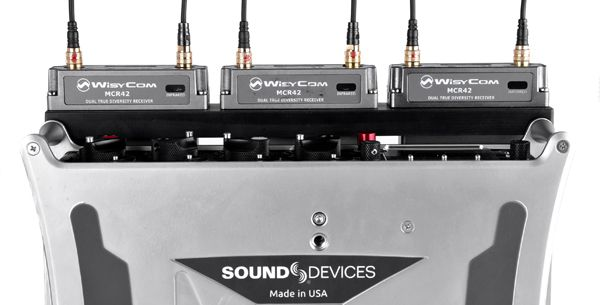 für Sound Devices 888 Slot für 3 Sender