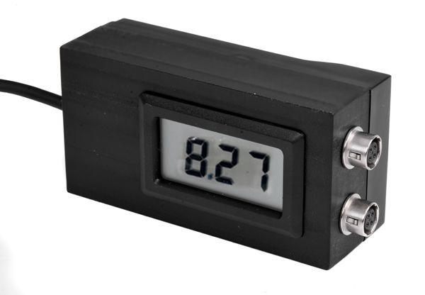 Voltanzeige zum Schutz vor Tiefenentladung von NP-F Li-Ion Akkus