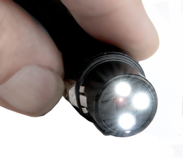 LED Taschenlampe / Schlüsselanhänger Neutrik XLR3F