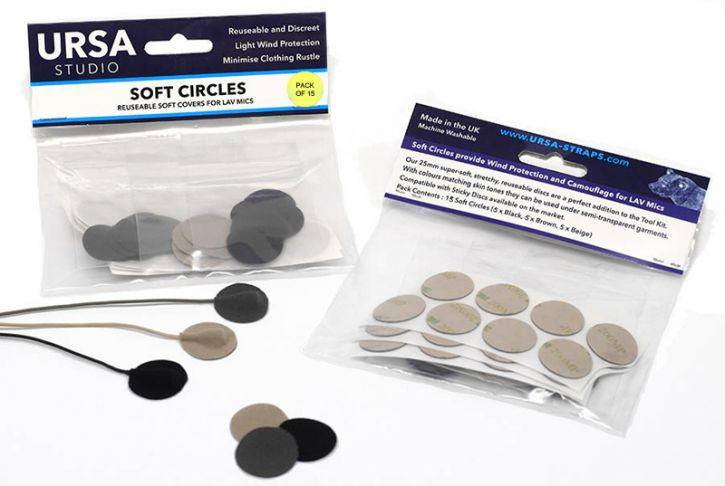 Ursa Soft Circles (Pack of 15) MIXED COLOURS