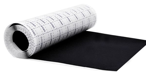 Ursa Tape Soft Strips Roll BLACK 100 x 15cm