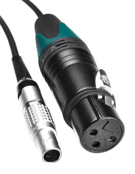 TC-IN Lemo 5 - XLR-3F green