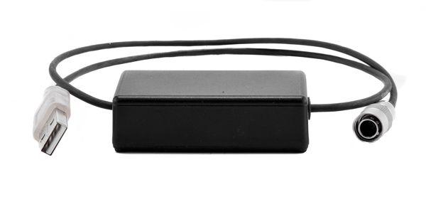 Adapter USB 5V - Hirose 12V, 60 cm (inkl. 12V Regelung)