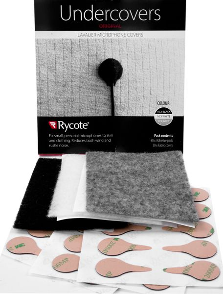 Rycote Undercover Mix Colours Undercovers - 30 uses