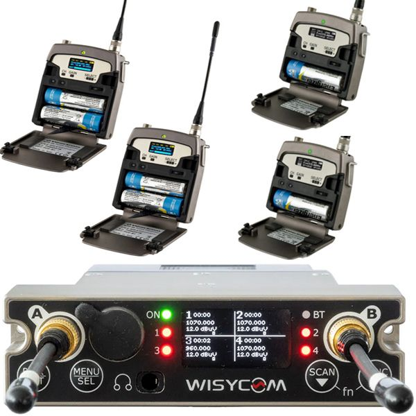 Wisycom MCR54-Kit-1 + SLK54-IK slot in kit