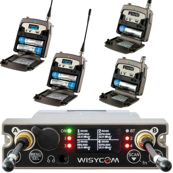 Wisycom MCR54-Kit-2 + BPA54 stand Alone