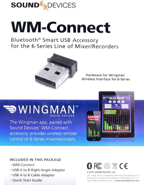 Sound Devices WM-Connect - Wingman Bluetooth-Dongle