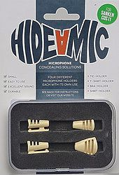 Hide-a-mic SANKEN COS-11-Set beige: Bra- / Shirt- / Tie- / T-Shirt-Holder