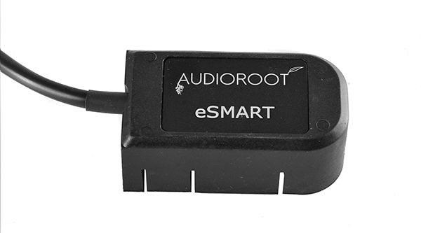 AUDIOROOT 3′ 5-conductor straight cable with molded battery connector. End connector not included