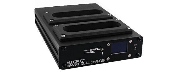 AUDIOROOT 2 bay desktop smart battery simultaneous charger