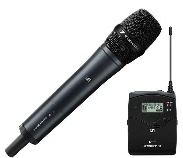 SENNHEISER Portable Handheld Mic Set ew 135P G4