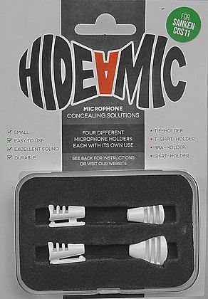 Hide-a-mic SANKEN COS-11-Set white: Bra- / Shirt- / Tie- / T-Shirt-Holder