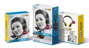 SENNHEISER Kopfhörer HD 25-Gelb